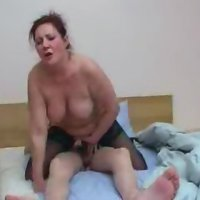 Mom teaching brother and sister how to fuck