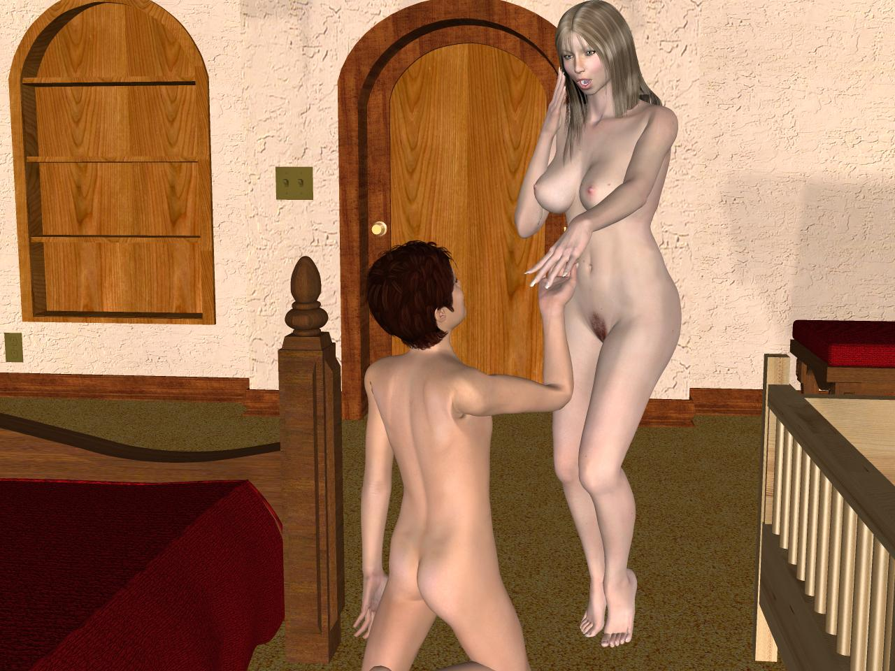Taboo 3d son mom and