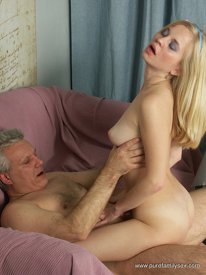 Sexy daughter need father sex
