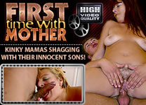 Virgin guys and their kinky mature moms invite you into the only treasury of first-time incest - FTWMother.com!